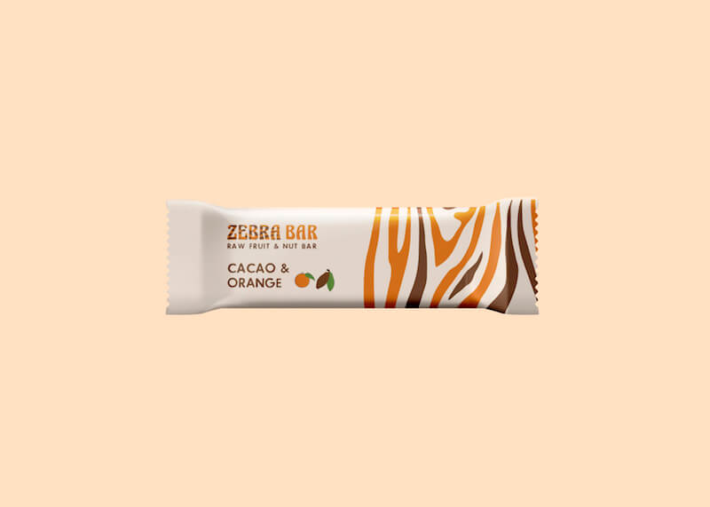 Zebra Bar Cacao & Orange